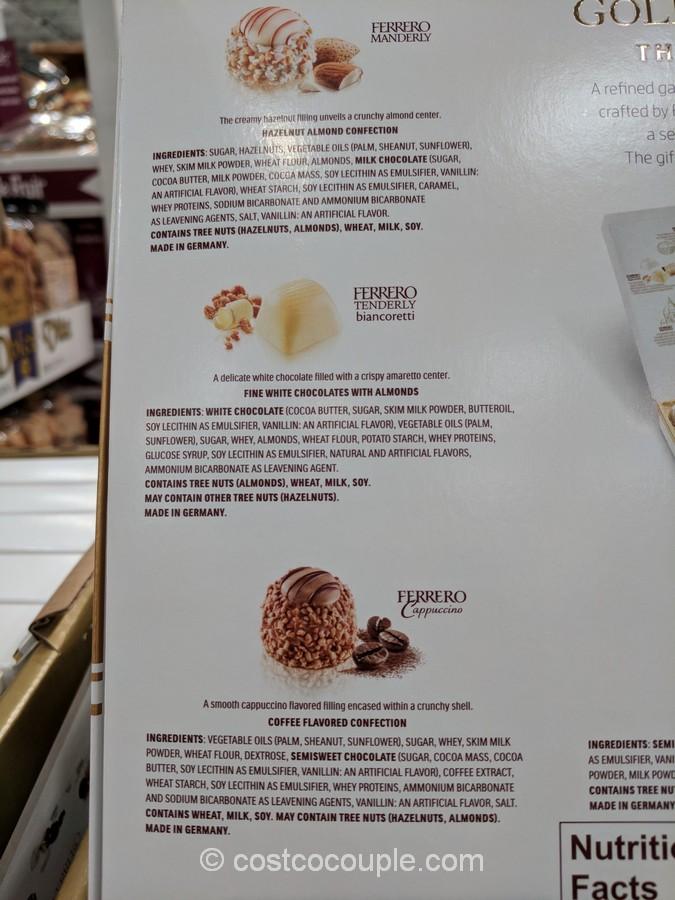 Ferrero Rocher Golden Gallery