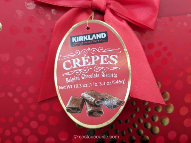 Kirkland Signature Belgian Chocolate Crepes
