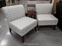 Ave Six 3-Piece Fabric Chair and Accent Table Set