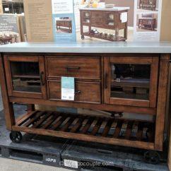 Costco Kitchen Island Simple Cabinets Bayside Furnishings Console