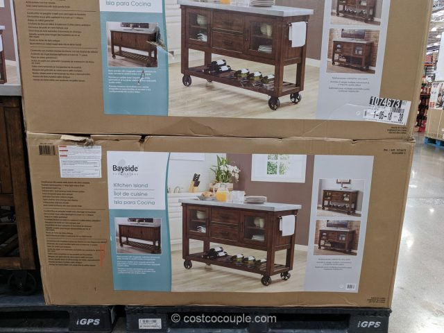 kitchen cabinet updates curtains bayside furnishings island console