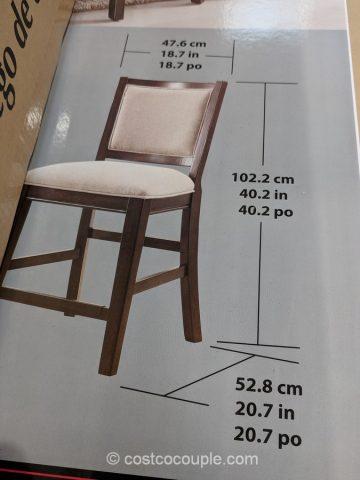 Pulaski Furniture 9Piece Counter Height Dining Set
