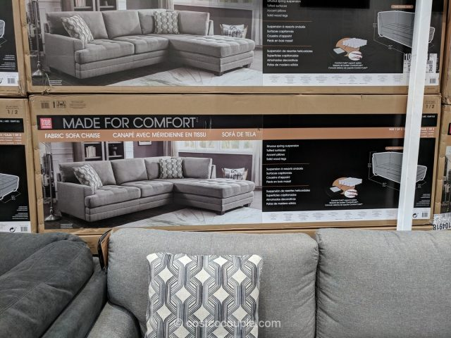 tufted sofa set fabric corner sofas with recliner true innovations sectional