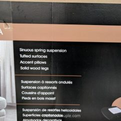 Reversible Sofa Karlstad True Innovations Fabric Sectional