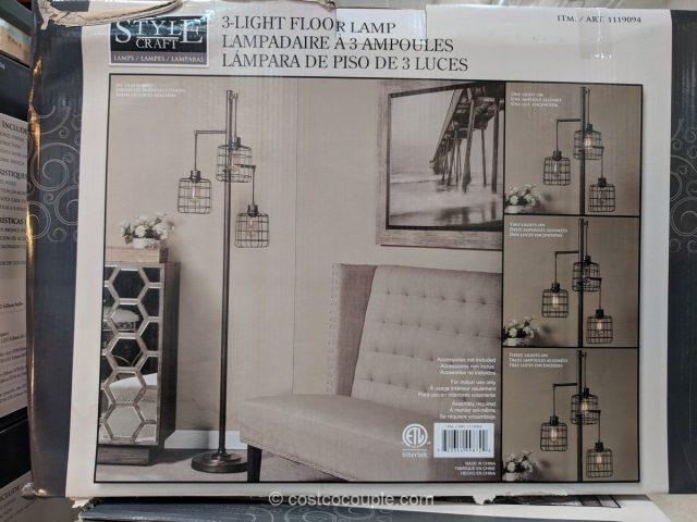 Style Craft 3Arm Floor Lamp