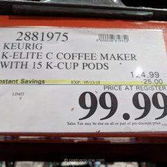 Beach Sling Chair Ice Cream Sandwich Keurig K-elite C Coffee Maker
