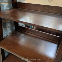 Stool Chair Costco Vintage Styles 72-inch Ladder Bookcase