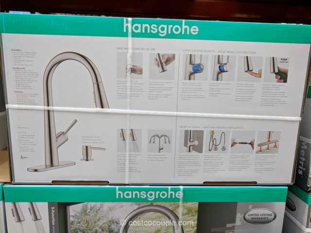 kitchen pull down faucet small pictures hansgrohe lacuna pull-down