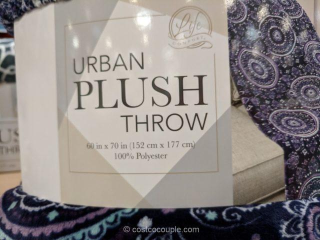 Life Comfort Urban Plush Throw
