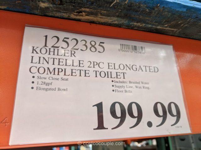 Kohler 2Piece Lintelle Complete Toilet Kit