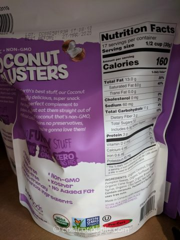 Inno Foods Organic Coconut Clusters