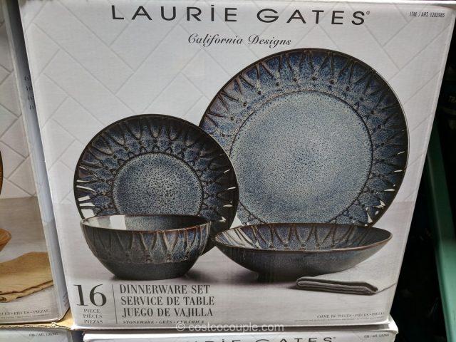Laurie Gates Stoneware Dinnerware Set