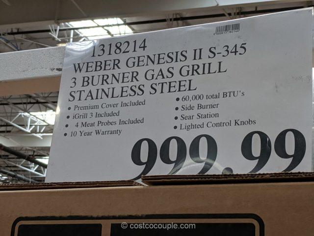 Weber Genesis II S345 Gas Grill