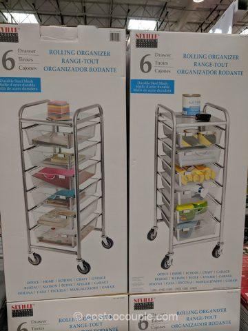 6Drawer Mesh Organizer Cart