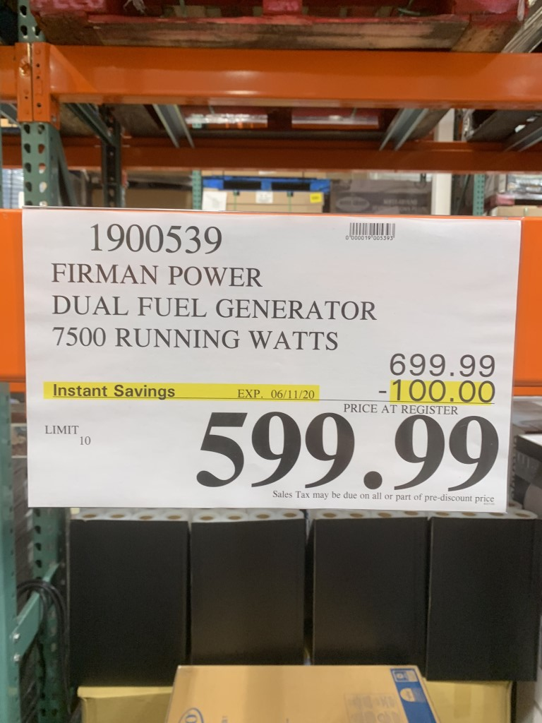 Champion Dual Fuel Inverter Generator Costco : champion, inverter, generator, costco, Generator, Costco