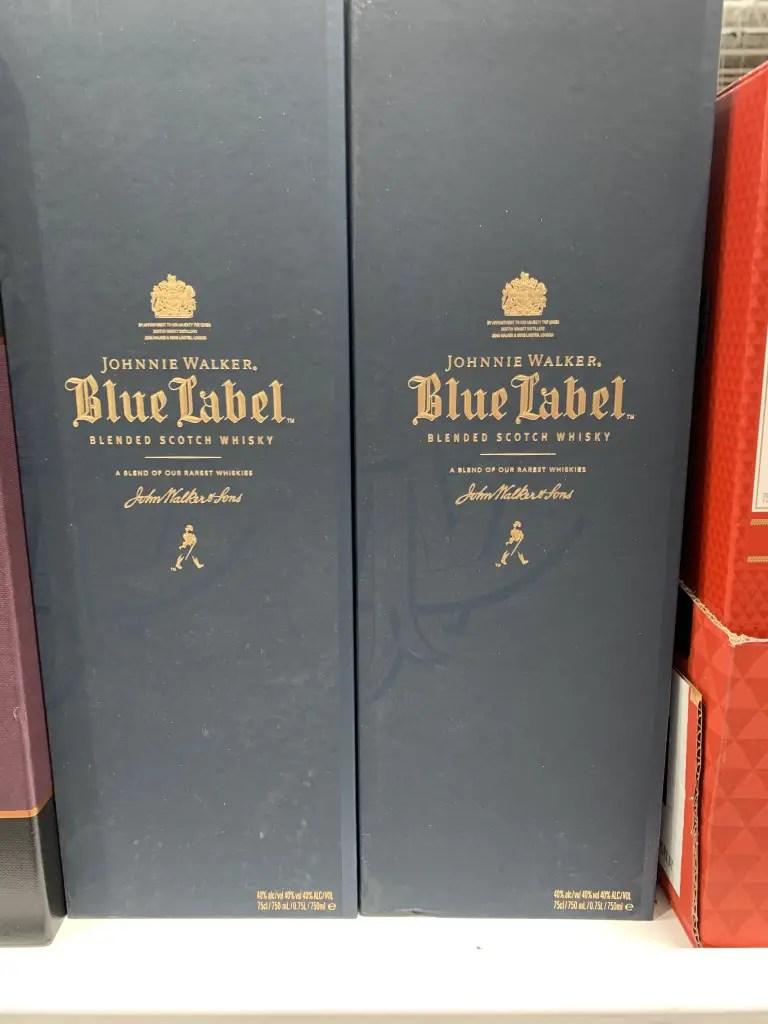 Blue Label Costco : label, costco, Costco, Johnnie, Walker, Label, Scotch, Whiskey