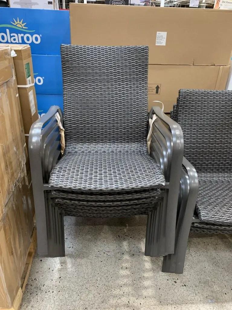 venta costco patio chairs stackable