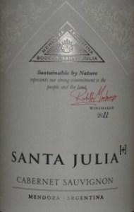 Santa Julia Cabernet Sauvignon Mendoza