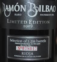 Bodegas Ramon Bilbao Limited Edition Rioja