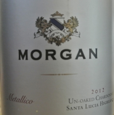 2012 Morgan Metallico Chardonnay