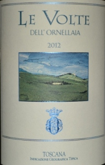 2012 Le Volte dell'Ornellaia