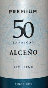 2012 Alceno Premium 50 Barricas Red Blend