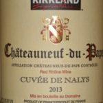 2013 Kirkland Signature Chateauneuf du Pape