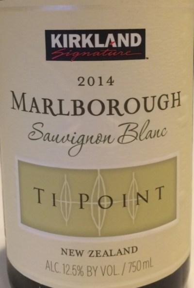 2014 Kirkland Signature Ti Point Marlborough Sauvignon Blanc