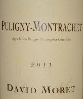 2011 David Moret Puligny-Montrachet