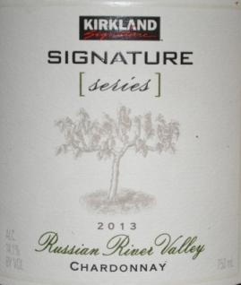 2013 Kirkland Signature Russian River Chardonnay