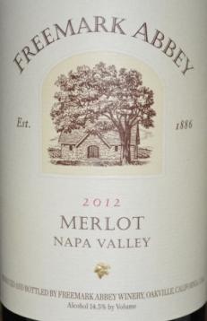 2012 Freemark Abbey Merlot
