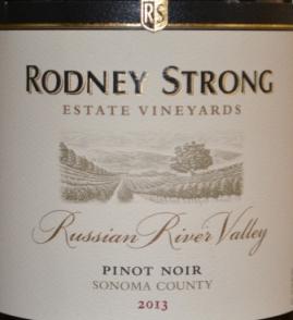 2013 Rodney Strong Russian River Pinot Noir