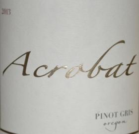 King Estate Acrobat Pinot Gris 2013