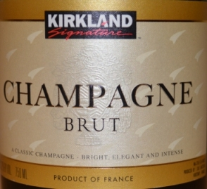 NV Kirkland Signature Champagne Brut