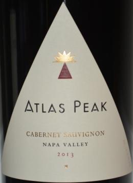 2013 Atlas Peak Cabernet Sauvignon