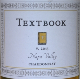 2013 Textbook Napa Chardonnay