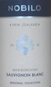 2015 Nobilo Marlborough Sauvignon Blanc
