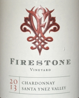 2013 Firestone Vineyard Chardonnay Santa Ynez Valley