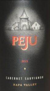 2013 Peju Cabernet Sauvignon