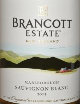 2015 Brancott Estate Marlborough Sauvignon Blanc