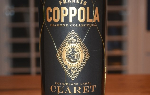 2014 Francis Coppola Black Label Diamond Collection Claret