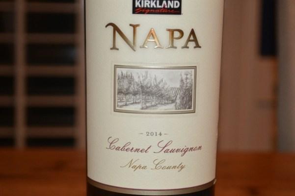 2014 Kirkland Signature Napa County Cabernet Sauvignon