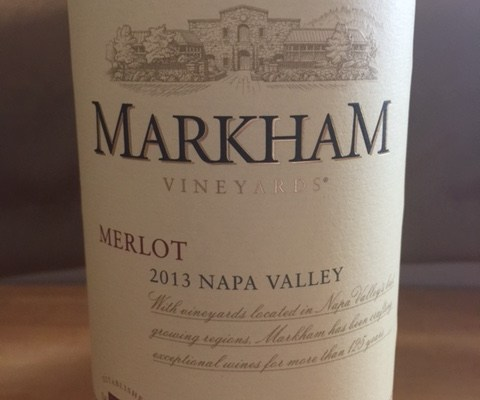 2013 Markham Merlot Napa Valley
