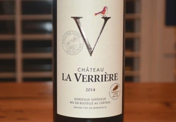 2014 Chateau La Verriere Bordeaux Superieur