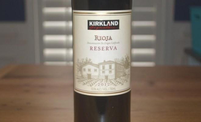 2012 Kirkland Signature Rioja Reserva