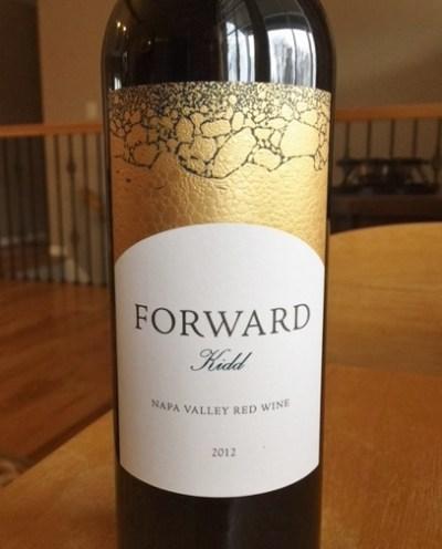 "2012 ""Forward Kidd"" Napa Valley Red Blend"