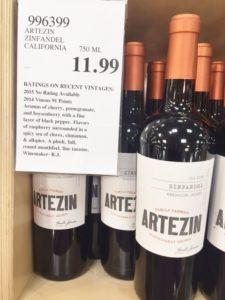 2014 Artezin Old Vine Zinfandel Mendocino County 2