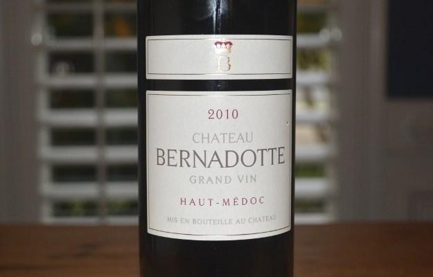 2010 Chateau Bernadotte Haut-Medoc Bordeaux