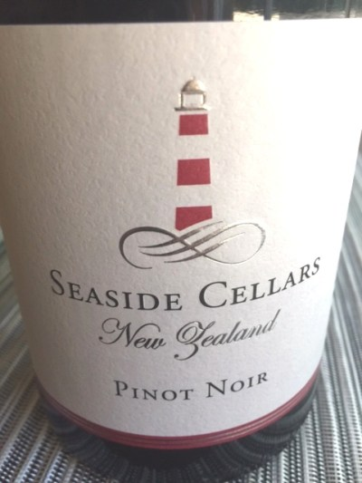 2014 Seaside Cellars Pinot Noir New Zealand