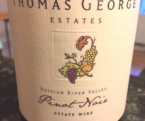2012 Thomas George Estates Russian River Valley Pinot Noir